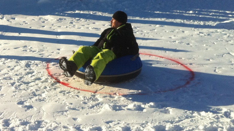 Snowtubing Alpin Curling