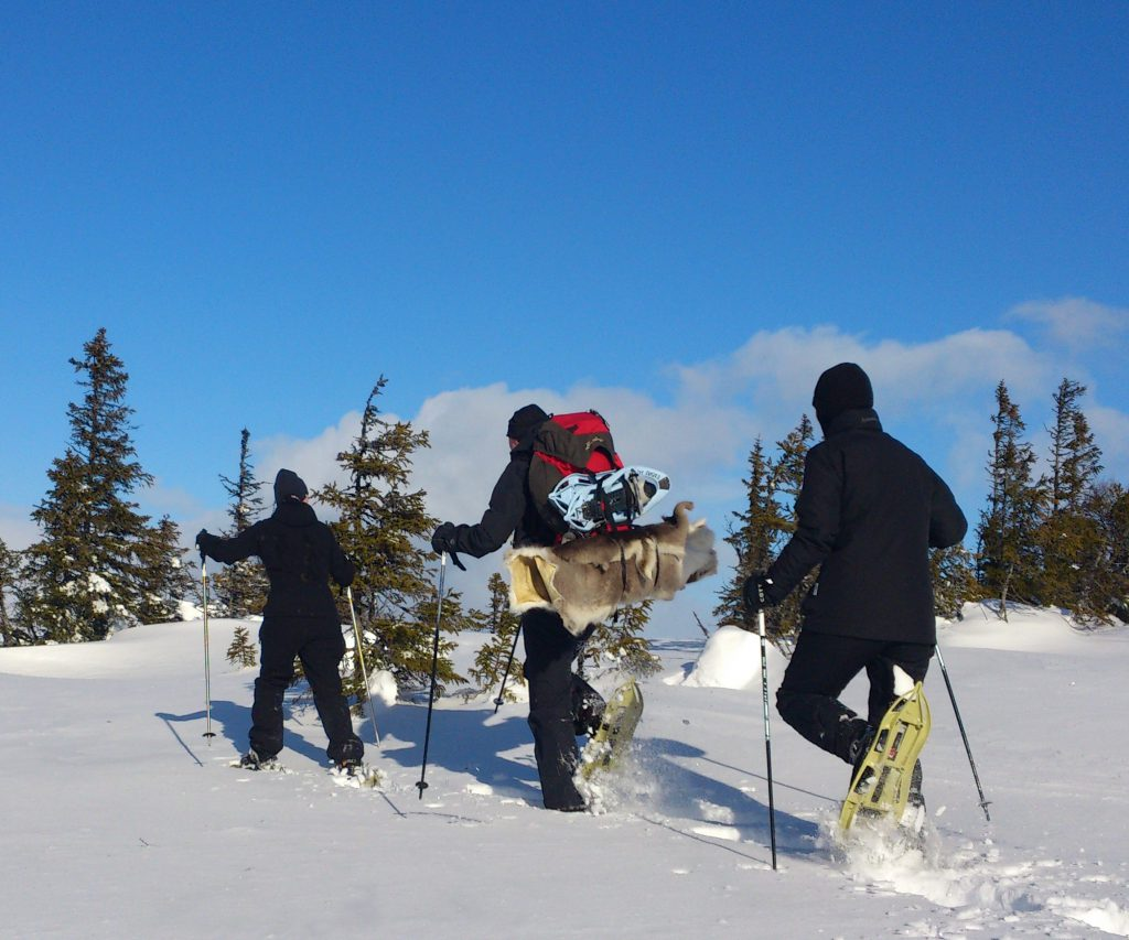 Snöskovandring Sälen