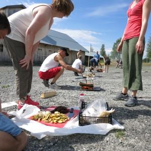 Matlagningstävling i Sälen sommar