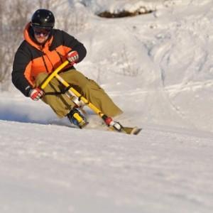 Snowbike extremt kul