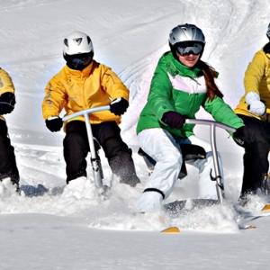 Snowbike tillsammans