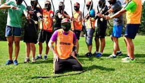 Archery combat gruppbild