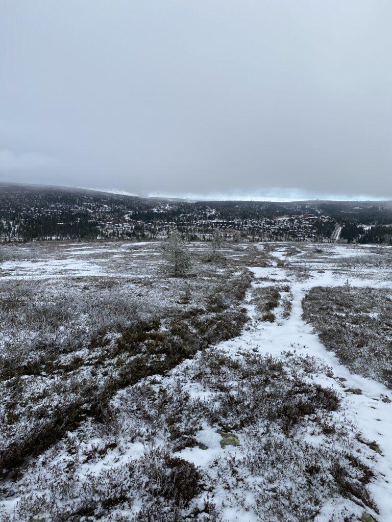 Utsikt Östra Kalven Högfjällshotellet