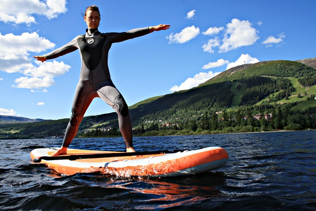 Stand Up Paddleboard SUP Yoga