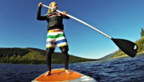 Stand Up Paddleboard SUP Selfie